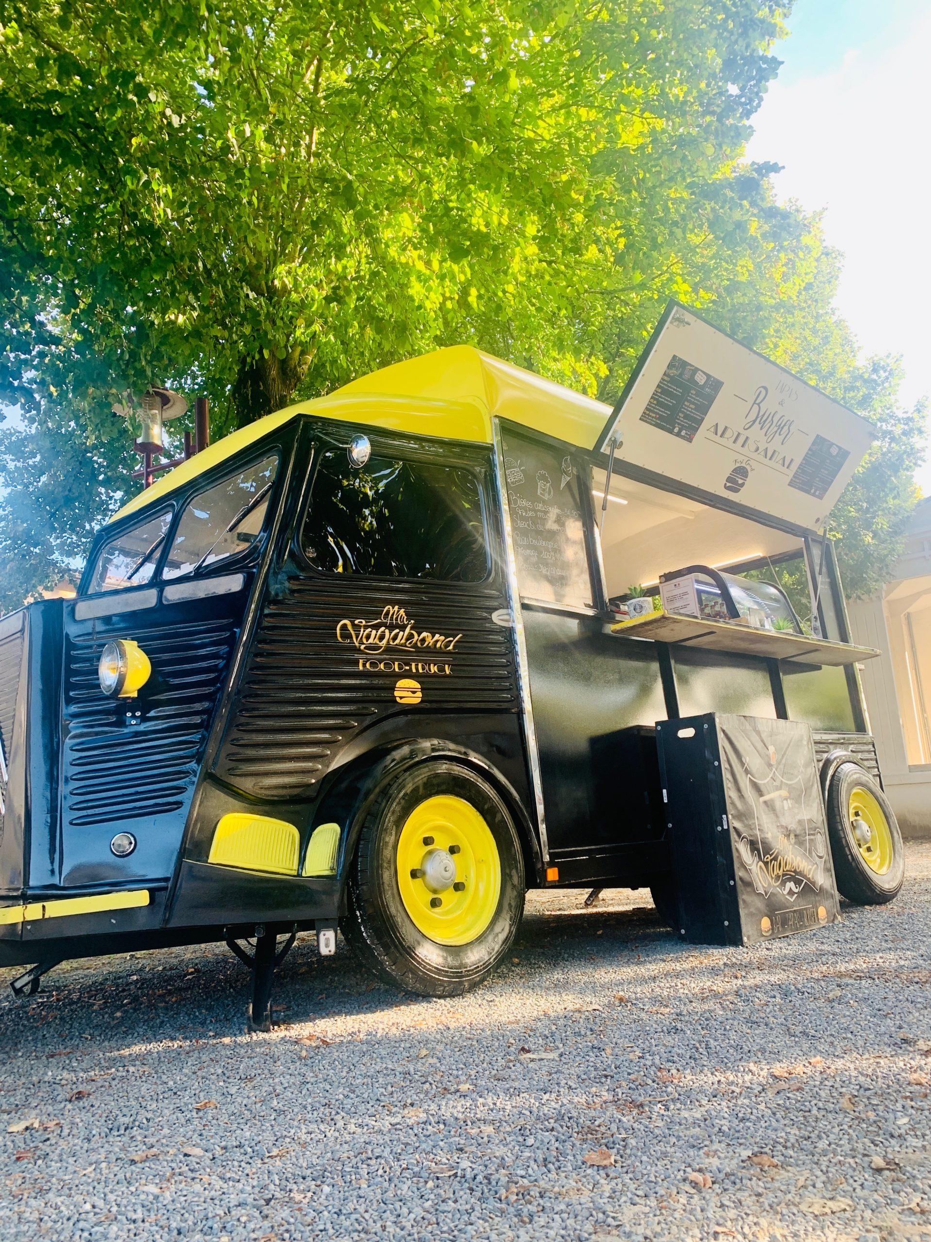 Food-Truck Mr Vagabond - Langon