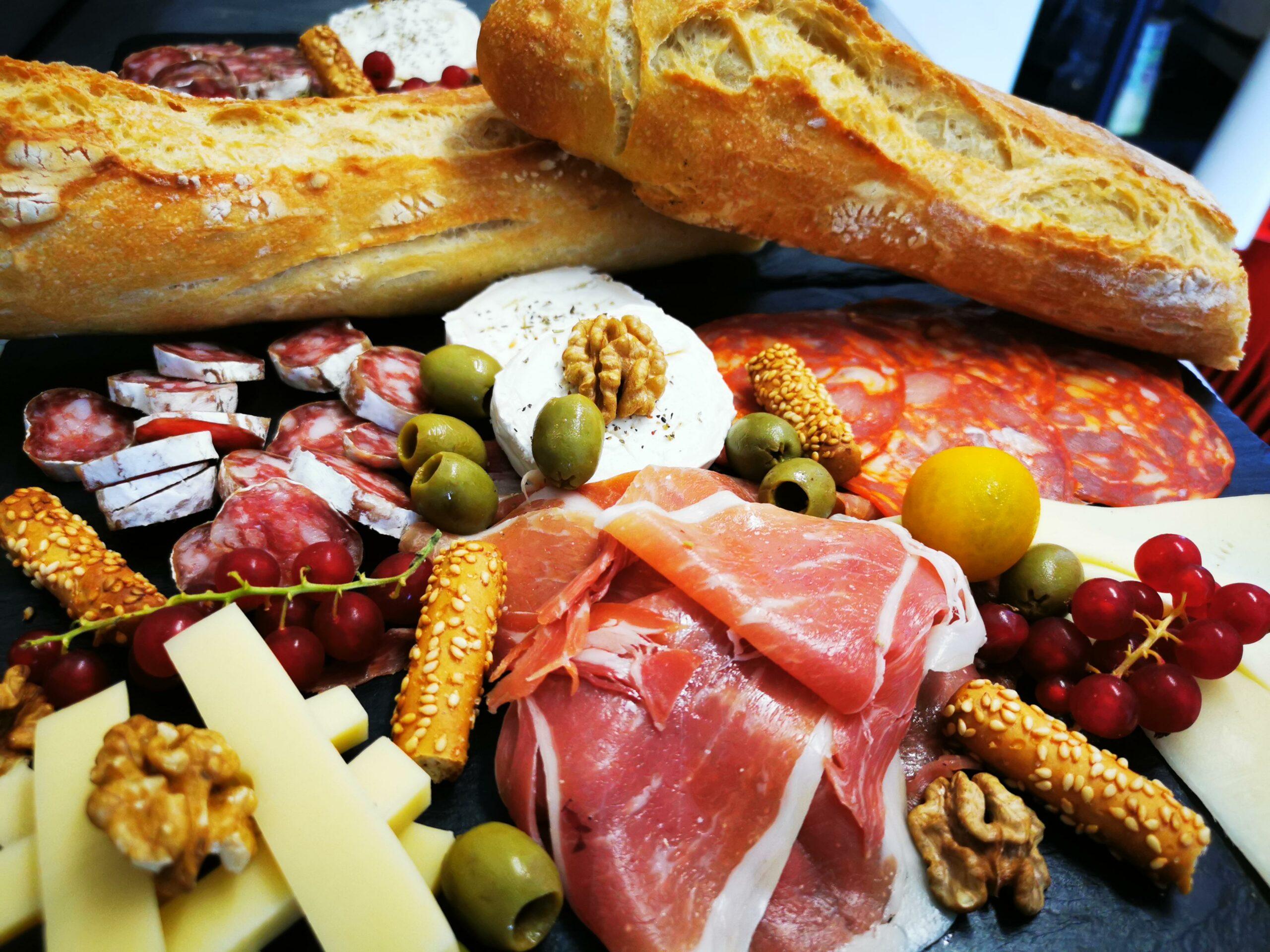 Planche charcuterie et fromage - Restaurant Sud ouest